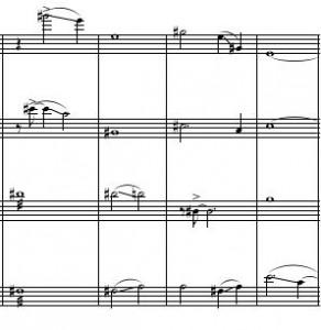 Rothko Quartet fragment