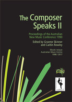The Composer Speaks II - ebook cover