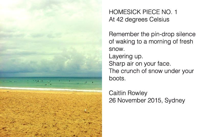 Homesick Piece No. 1